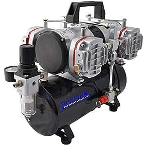 airbrush depot model tc 848 high performance four cylinder piston air compressor. Black Bedroom Furniture Sets. Home Design Ideas