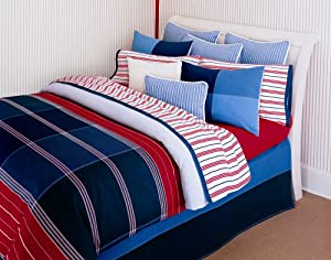Tommy hilfiger annapolis bedding collection old pattern for Tommy hilfiger bedroom furniture