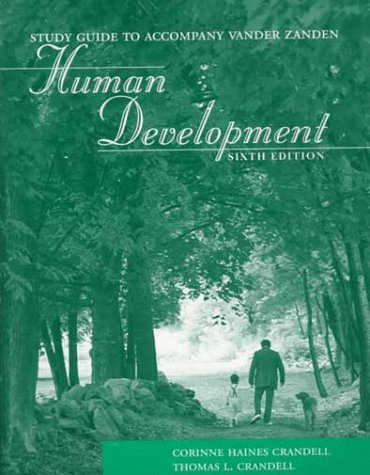 Study Guide to Accompany Vander Zanden Human Development PDF