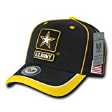 Rapid Dominance Adult Unisex Piped Army Military Cap