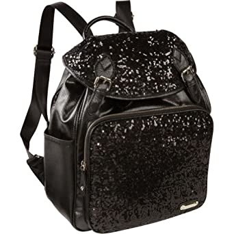 Nine West Handbags Flashlite Backpack (Black)