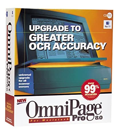 OmniPage Pro 8.0