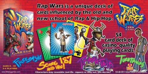 Rap Wars Card Game