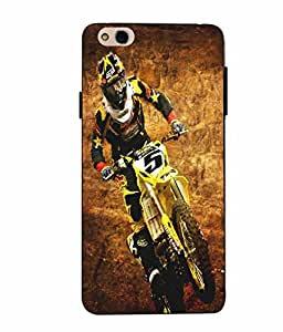 Case Cover Bike Printed Multicolor Soft Back Cover For InFocus Bingo 50 Plus