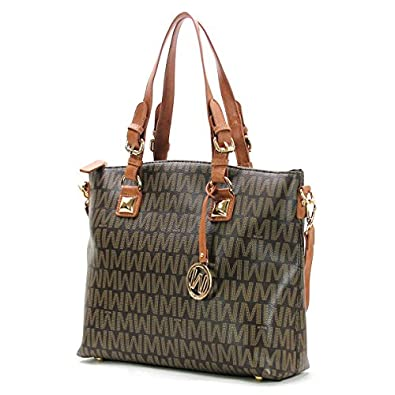 willie michi patron wynn classic tote brown handbags. Black Bedroom Furniture Sets. Home Design Ideas
