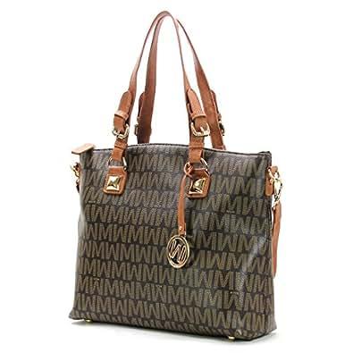 willie michi patron wynn classic tote brown handbags. Black Bedroom Furniture Sets. Home Design Ideas