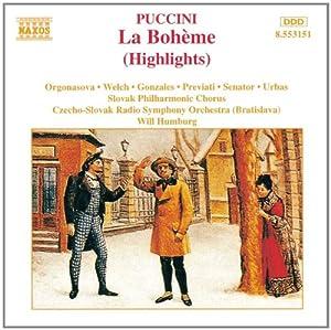 La Boheme (Highlights)