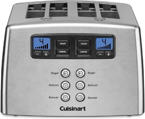 Cuisinart Countdown 4 Slice Leverless Toaster CPT440 (Cuisinart Toaster Cpt 440 compare prices)
