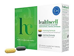 HealthyCell ® Enhanced Daily Multivitamin / Multimineral & Cell Health Supplements - Antiaging - Advanced Cellular Nutrition Vitamins