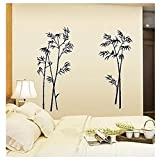 Bamboo Quote Wall Stickers Decal Mural Wall Sticker For Home Office Bedroom Wall Sticker Decor