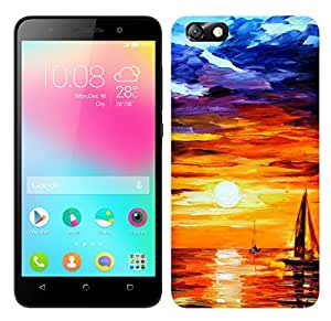 TrilMil Premium Design Back Cover Case For Huawei Honor 4X