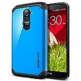 SPIGEN LG G2 Case Slim [Slim Armor] [Dodger Blue] Dual Layer Protective Case for T-Mobile International ONLY - Dodger Blue