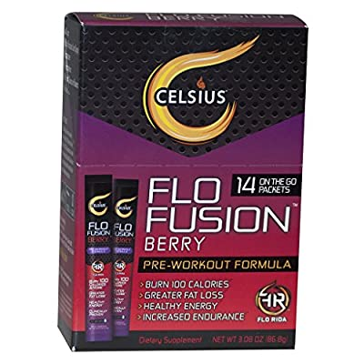 Celsius Berry On-The-Go 14ct Packets, 3.08 Ounces