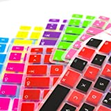 MiNGFi Silicone Keyboard Cover Protector Skin for Toshiba Satellite L600 L600D L630 L635 L640 L640D L645 L645D L700 L730 L745 L745D M640 M645 US Keyboard Layout - Translucent Green