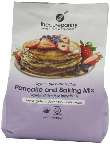 The Pure Pantry Pancake Mix, Buckwheat Flax, 4-Pound