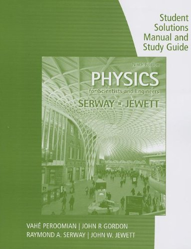 physics for scientists and engineers solutions manual pdf