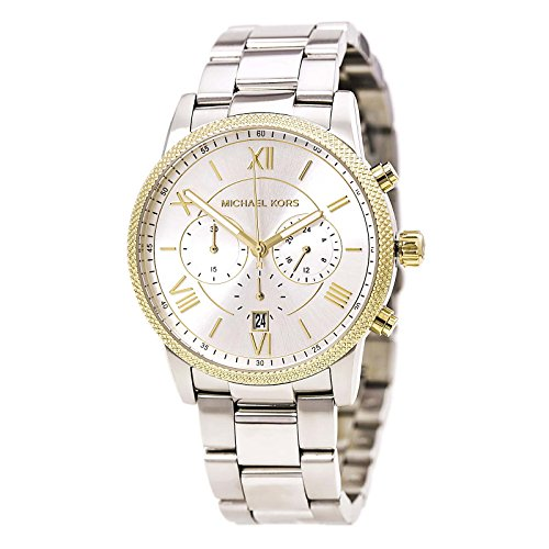 Michael Kors MK8396 42mm Silver Steel Bracelet & Case Mineral Men's Watch