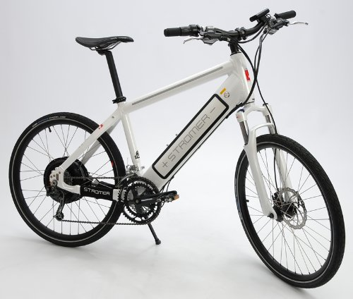 2012 Stromer Elite Sport Electric Motor Bicycle White Medium Road Bike