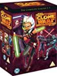 Star Wars Clone Wars - Season 1-5 [DVD]