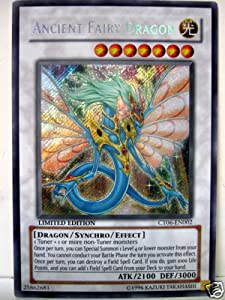 YUGIOH ANCIENT FAIRY DRAGON SECRET RARE CT06-EN002 TIN CARD
