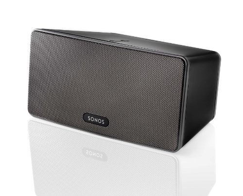 Sonos - Play:3 Wireless Speaker For Streaming Music (Small) - Black