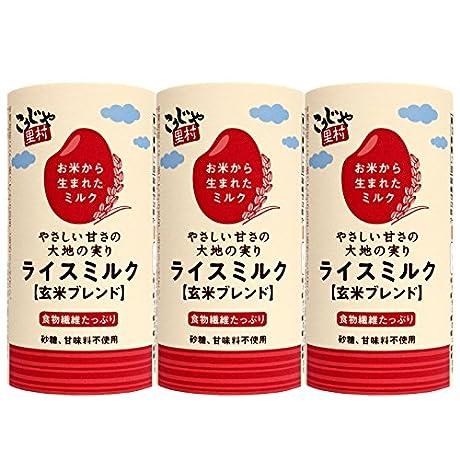 国産米ライスミルク[玄米ブレンド]カート缶125ml×30本