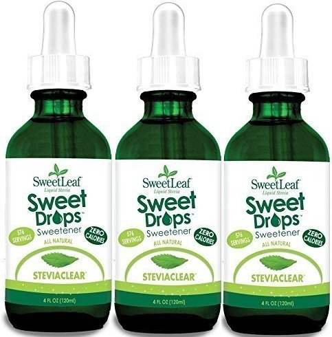 Sweetleaf Stevia Extract Clear Liquid 4 oz (3 Pack) (Stevia Clear Liquid Extract 4 Oz compare prices)