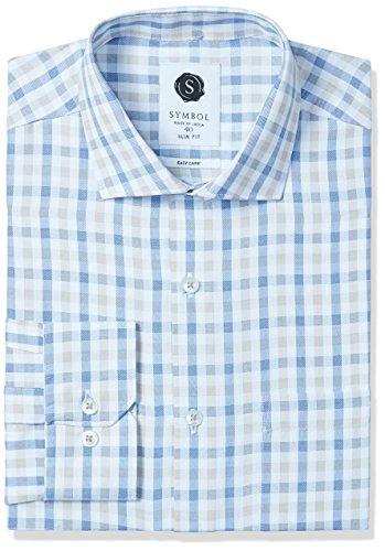 Symbol-Mens-Formal-Checks-Slim-Fit-Shirt