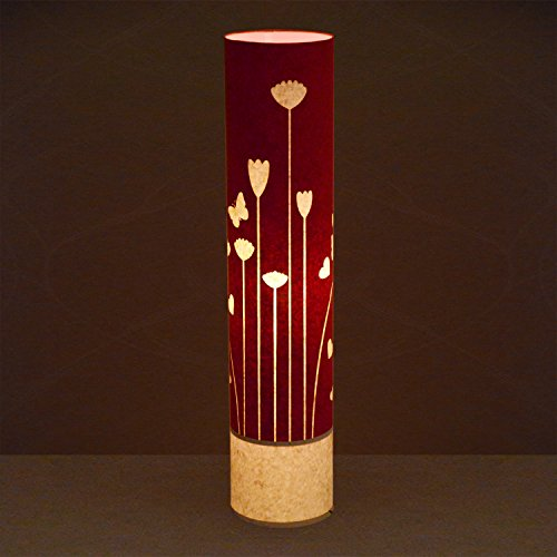 craftter-flying-flowers-red-cylinderical-artistic-floor-lamps-handmade-floor-lights