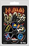 Hot Picks Def Leppard Collectable 6 Piece Guitar Pick Pack