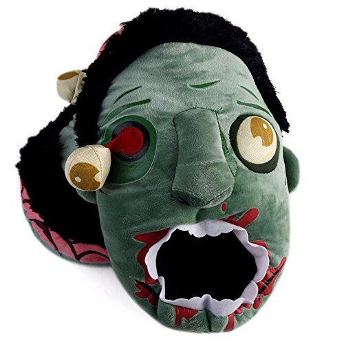 Aaronam Toy Vault Zombies Afoot Plush Slippers Plush Slippers (One Size Fits Most)