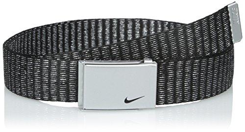 Nike Women's Lurex Single Web Belt, Silver, One Size (Nike Bottle Opener Belt compare prices)