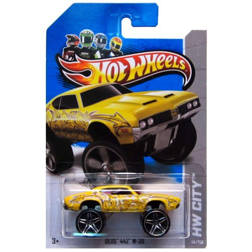 Hot Wheels HW City Olds 442 W-30 34/250 - 1
