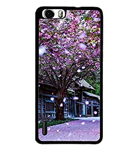 printtech Floral Tree China Back Case Cover for Huawei Honor 6 Plus