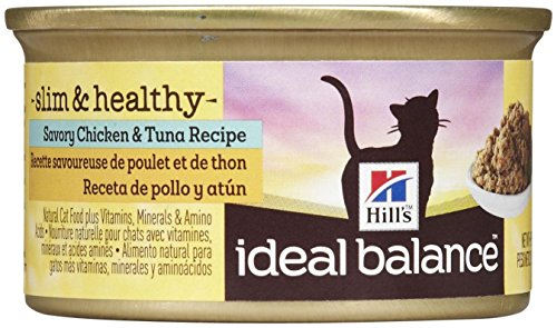 Hill's Ideal Balance Slim & Healthy Savory Chicken & Tuna Recipe