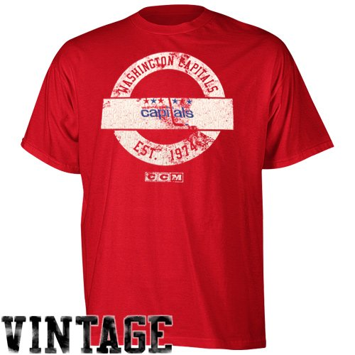 NHL Washington Capitals Classic Short Sleeve