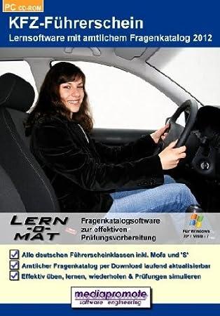 Lern-o-Mat KFZ-Führerschein 2012 - Lernsoftware mit amtlichem Fragenkatalog 2012