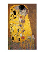 Artopweb Panel Decorativo Klimt The Kiss 90x60 cm Multicolor