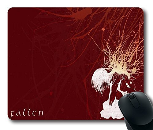"""Fallen Red Laser Technology Custom Rectangle Mouse Pad Oblong Gaming Mousepad in 220mm*180mm*3mm (9""""*7"""") -1026082"""