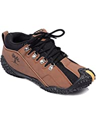 TRV Synthetic Leather Casual Shoes For Men