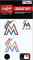 Rawlings Sporting Goods MLBDC Decal Kit, Miami Marlins