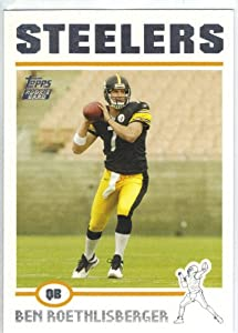 2004 Topps # 311 Ben Roethlisberger Rookie Card Pittsburgh Steelers Football Card by Topps