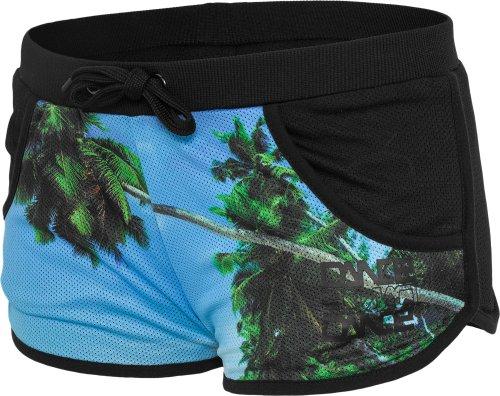 Urban Classics -  Pantaloncini  - Donna Multicolore Blue Hawaii