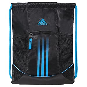 adidas Alliance Sport Sackpack, Black/Solar Blue