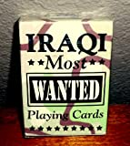 Iraq Most Wanted Military Cards