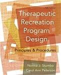 Therapeutic Recreation Program Design...