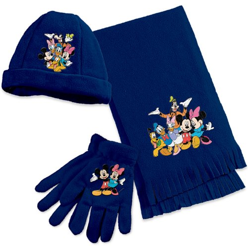 The Magic Of Disney Women's Scarf Set by The Bradford Exchange