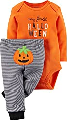Carters Unisex Baby My First Halloween Bodysuit & Pant Set