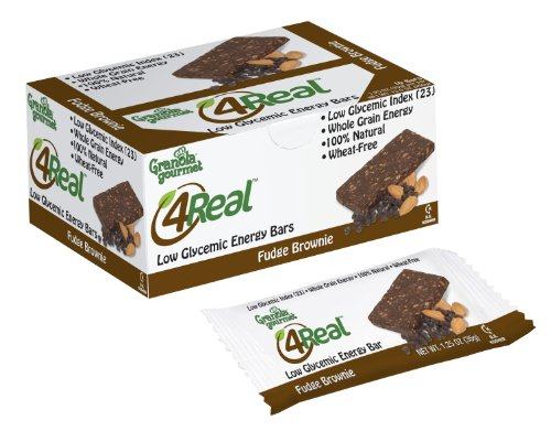 Granola Gourmet 4Real Low Glycemic Energy Bars -