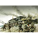 Italeri Models Coastal Bunker Assault Diorama Set